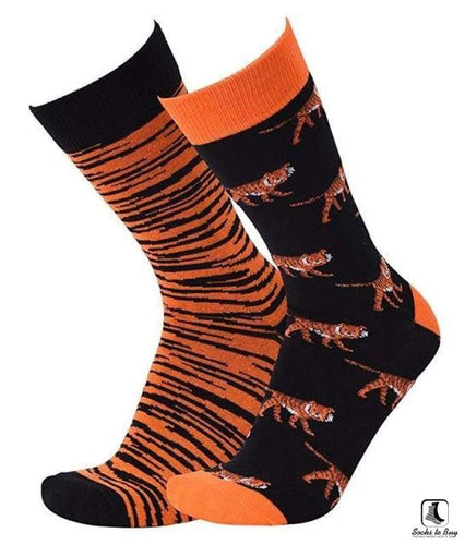 Tiger Stripes Mixups Socks - Socks to Buy 1