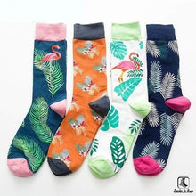 Load image into Gallery viewer, Tropically Lush Socks - Socks to Buy 1