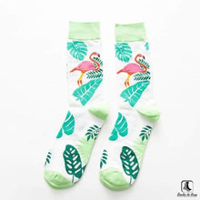 Load image into Gallery viewer, Tropically Lush Socks - Socks to Buy 3