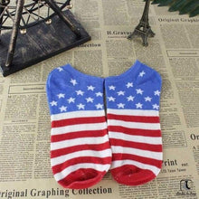 Load image into Gallery viewer, Wave Your Flag Ankle Socks - Socks to Buy 4