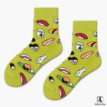 Load image into Gallery viewer, We Like Sushi Print Socks - Socks to Buy 7