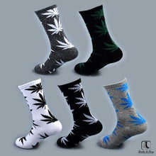 Load image into Gallery viewer, WWWeed Ganja Leaf Socks - Socks to Buy 7