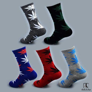 WWWeed Ganja Leaf Socks - Socks to Buy 6