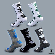 Load image into Gallery viewer, WWWeed Ganja Leaf Socks - Socks to Buy 4