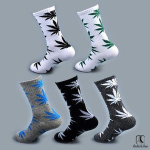 WWWeed Ganja Leaf Socks - Socks to Buy 4