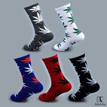 Load image into Gallery viewer, WWWeed Ganja Leaf Socks - Socks to Buy 2