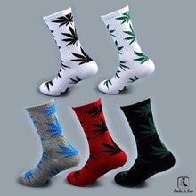 Load image into Gallery viewer, WWWeed Ganja Leaf Socks - Socks to Buy 3