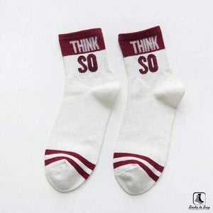 You Read My Mind Short Crew Socks - Socks to Buy 4
