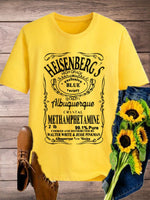 HEISENBERG'S  Top Retro