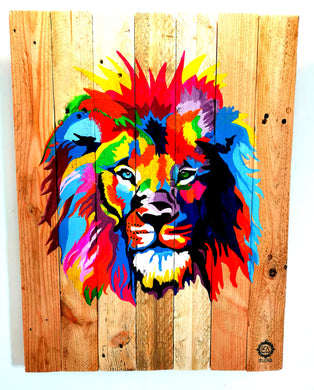 Lion Pop Art