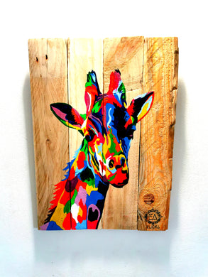 Girafe Pop Art