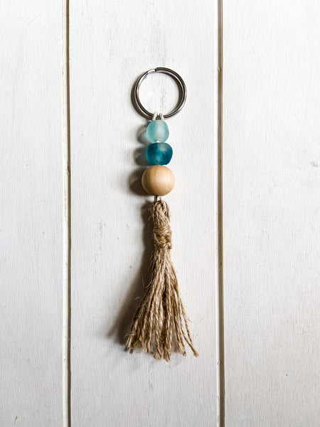 3 Bead Key Chain - Salt and Branch