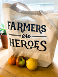 Farmers are Heroes Tote Bag - Salt and Branch