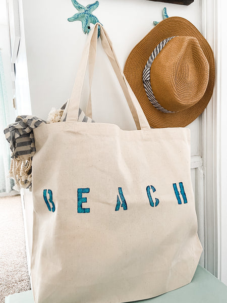 Beach Canvas Tote - Salt and Branch