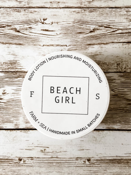 Beach Girl Body Lotion - Salt and Branch