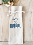 Be Thankful Wine Bag - Salt and Branch