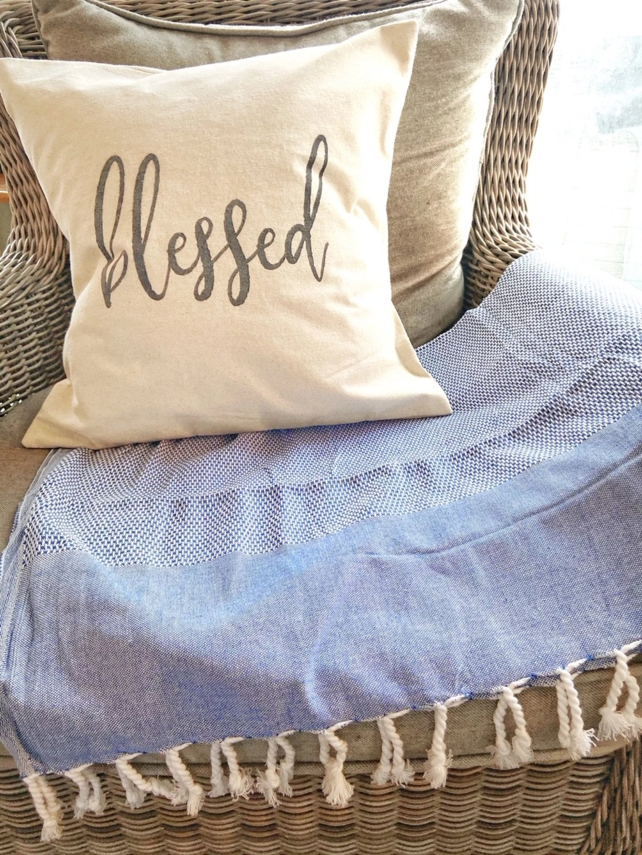 Blessed Pillow - Salt and Branch