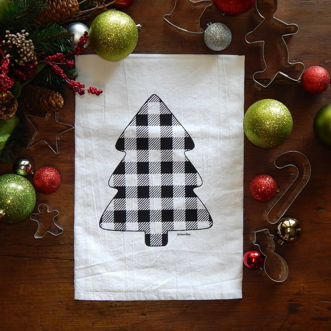 Buffalo Check Tea Towel - Salt and Branch