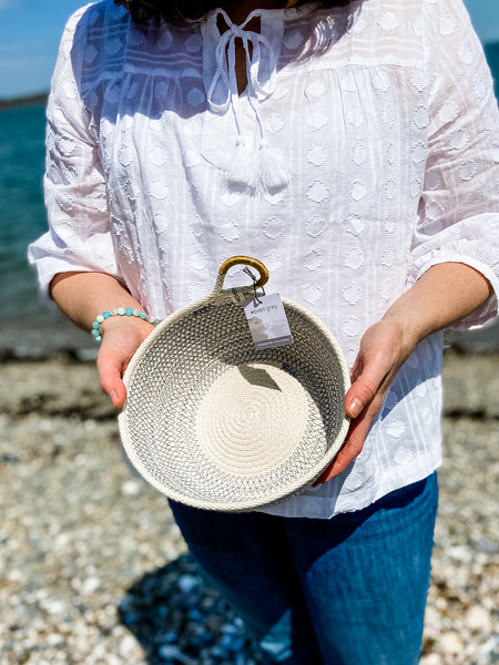 Coastal Collection Basket - Salt and Branch