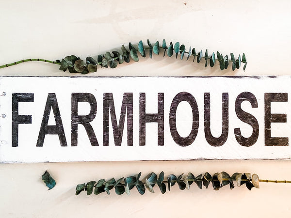 Farmhouse Sign - Salt and Branch