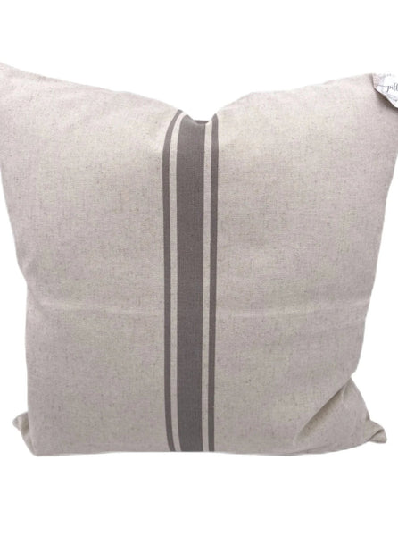 Grain Stripe Pillow Cover - Salt and Branch
