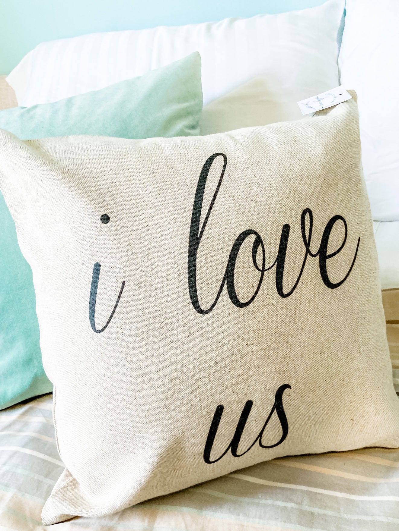 I Love Us Pillow Cover - Salt and Branch