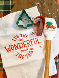 It's The Most Wonderful Time of the Year Tea Towel