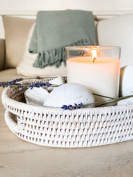 Rattan Tray - Salt and Branch