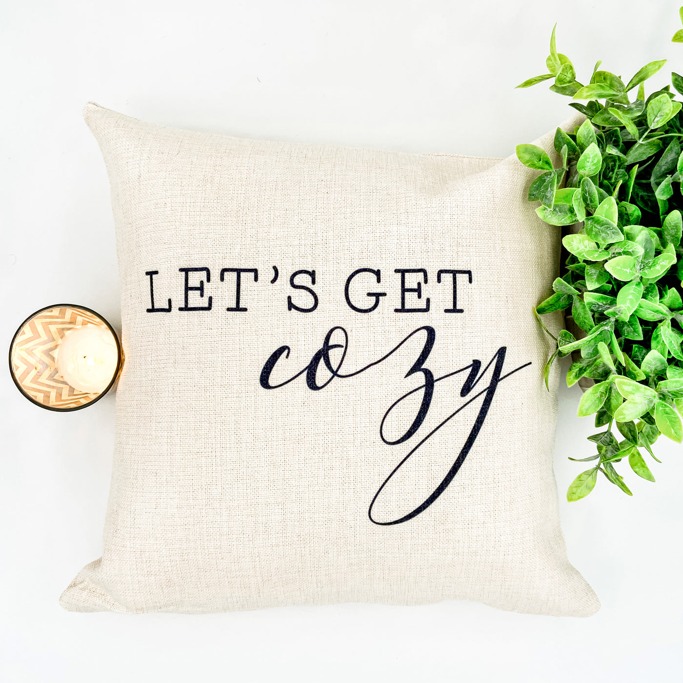 Let's Get Cozy Pillow Cover - Salt and Branch