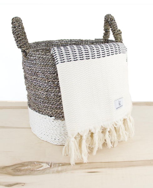 Plush Weave Turkish Throw - Salt and Branch