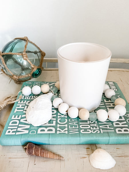 Brewster Recycled Glass and Shell Garland - Salt and Branch