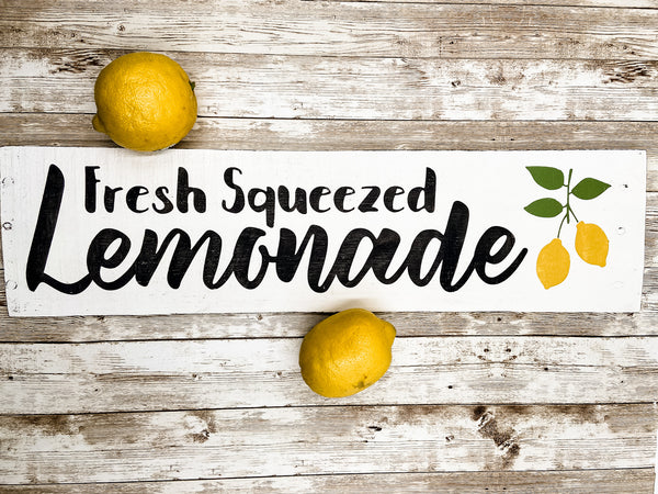 Fresh Squeezed Lemonade Sign - Salt and Branch