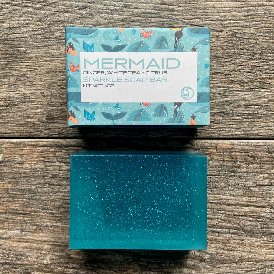 Mermaid Sparkle Bar Soap - Salt and Branch