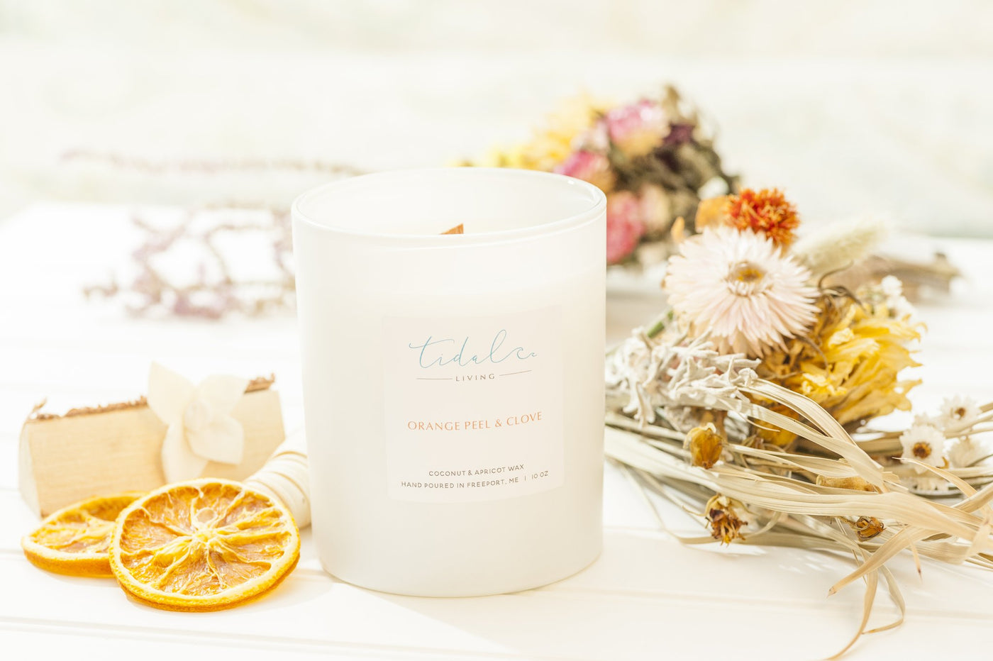 Orange Peel and Clove Candle - Salt and Branch