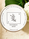 Rosemary + Mint Candle, large - Salt and Branch