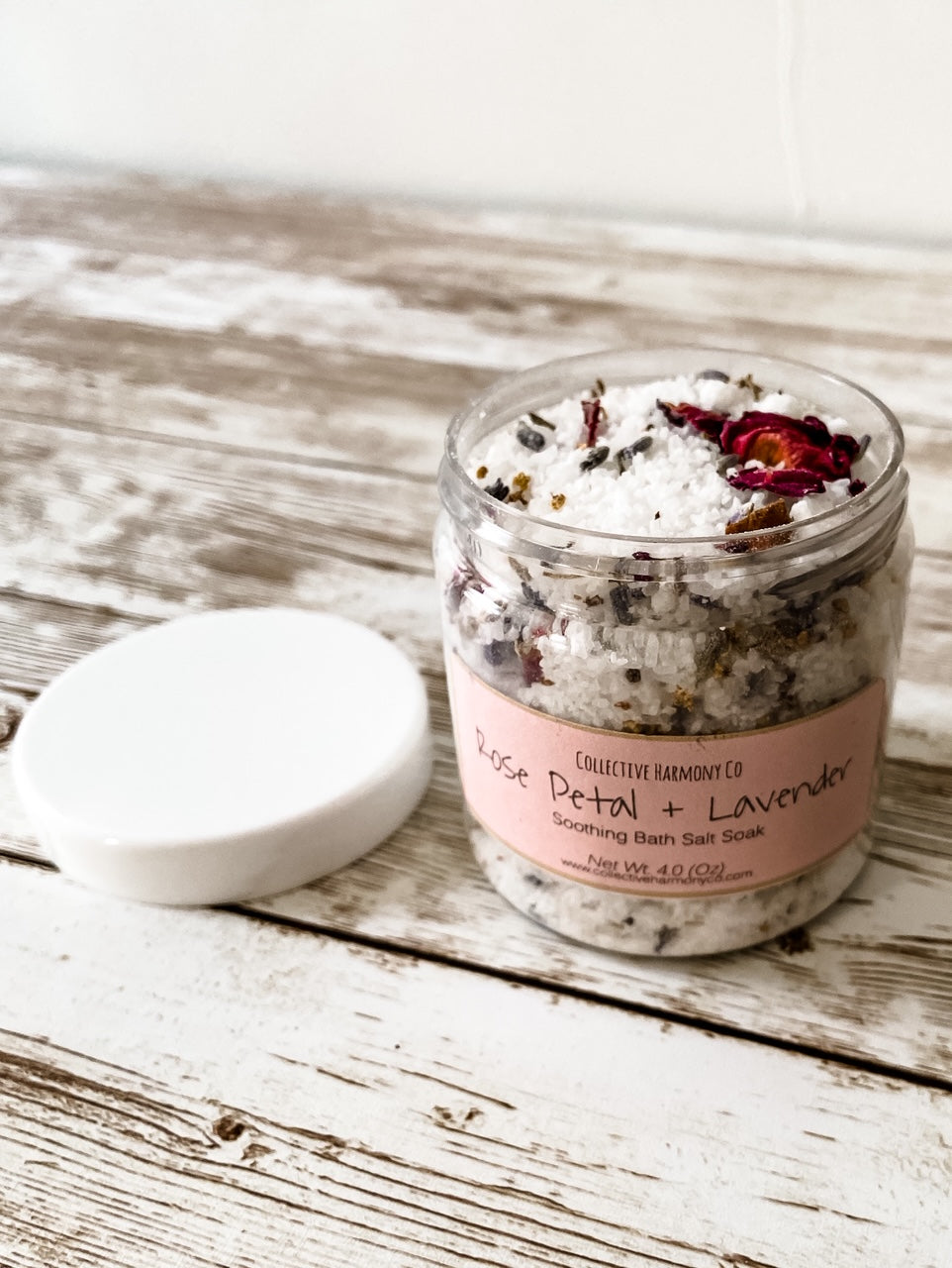 Rose Petal and Lavender Bath Salts - Salt and Branch