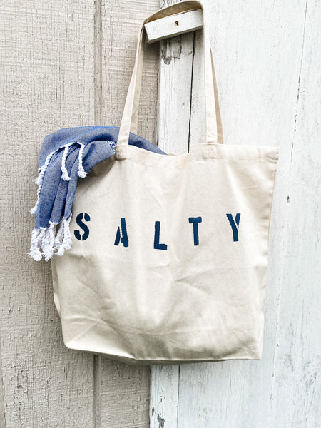 Salty oversized tote bag - Salt and Branch