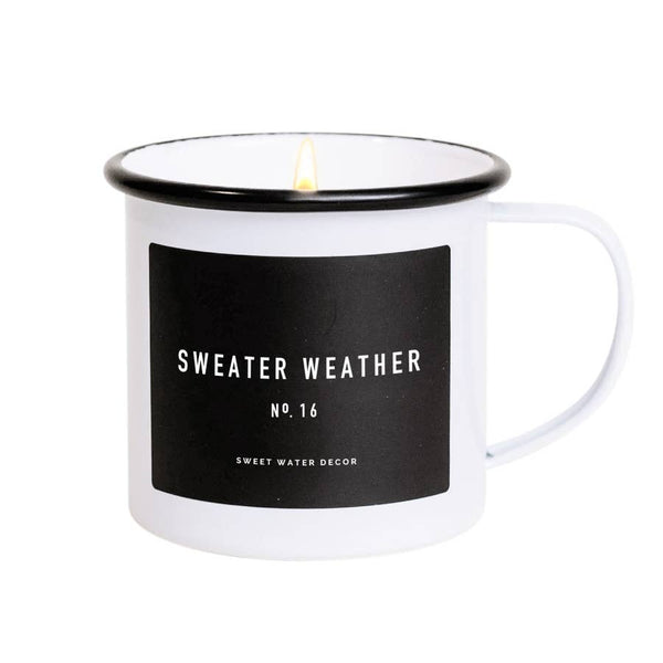 Sweater Weather Soy Mug Candle - Salt and Branch