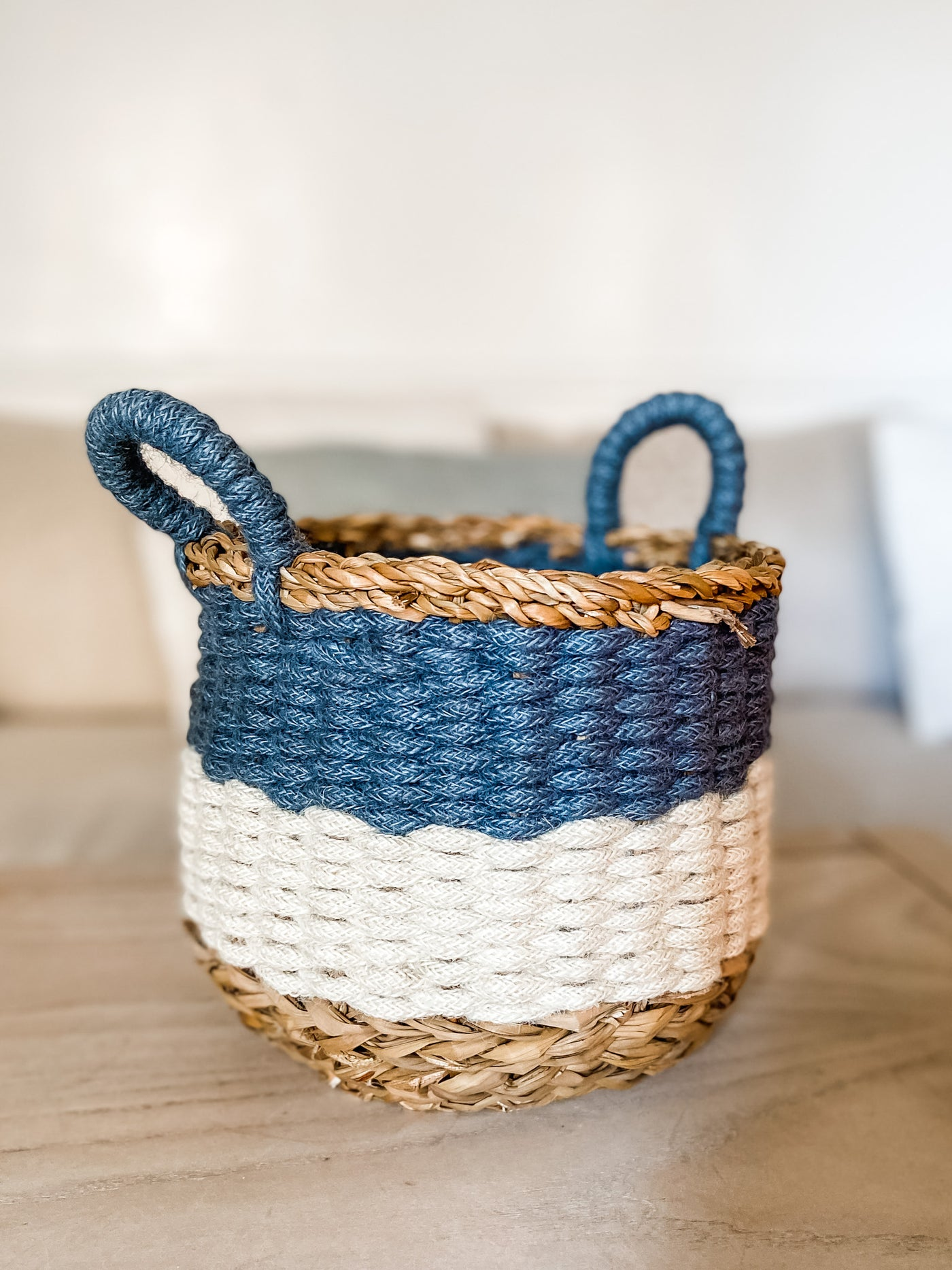 Ula Striped Baskets - Salt and Branch