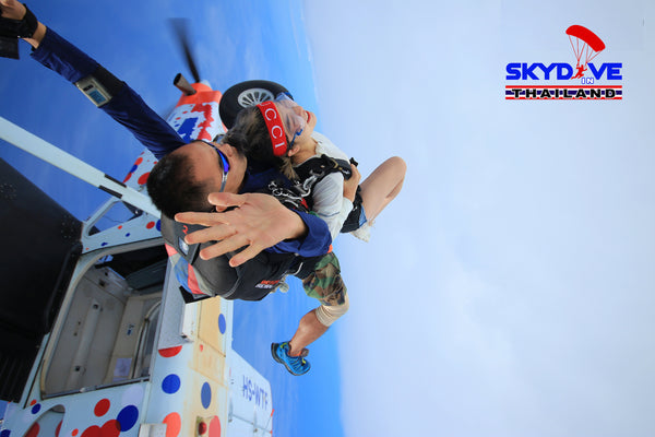 Skydive in Thailand