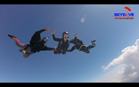 Skydiving License Course USPA A License Training Course In Thailand