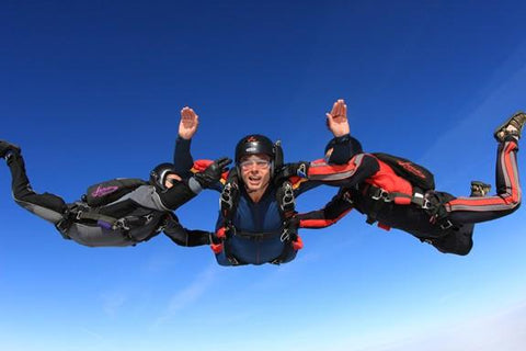 Learn Skydiving in Thailand Accelerated Freefall (AFF) Training Course Level - 1, Includes a FREE Tandem Skydive ฿22,950 - Skydive In Thailand