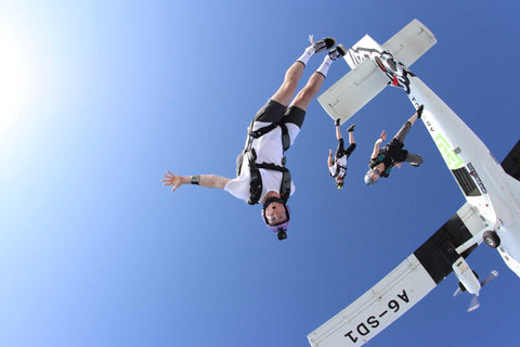 "skydiving license course USPA ""A"" License Training, This includes AFF Levels 1 - 8. ฿144,300 - Skydive In Thailand"