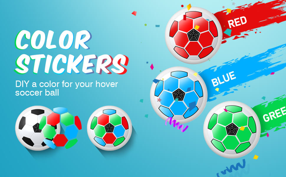 hover soccer stickers