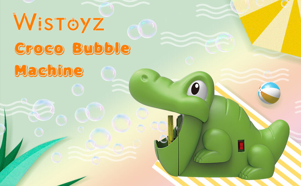 Croco Bubble Machine