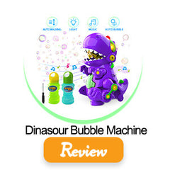 dino bubble machine