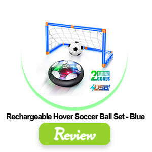Rechargeale hover soccer ball set