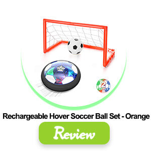 rechargeable hover soccer ball set