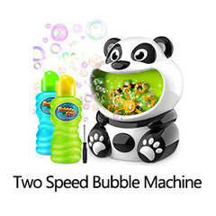 two speed bubble machine