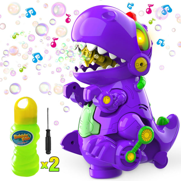 WisToyz Dinosaur Bubble Machine